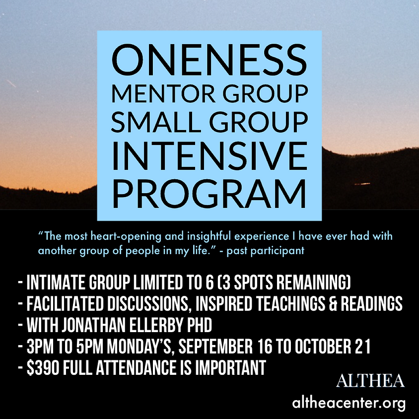 Althea's Oneness Mentor Group - SPLIT PAYMENTS