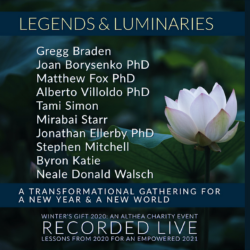 Althea Center's Legends & Luminaries - Live Recorded Video