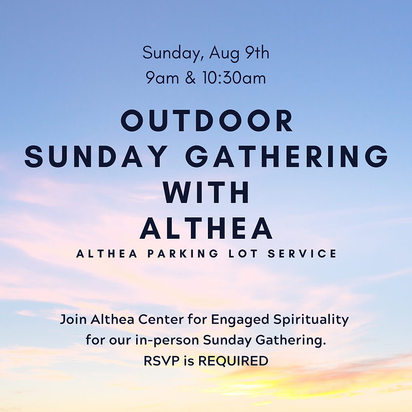 Althea Sunday Gathering - RSVP