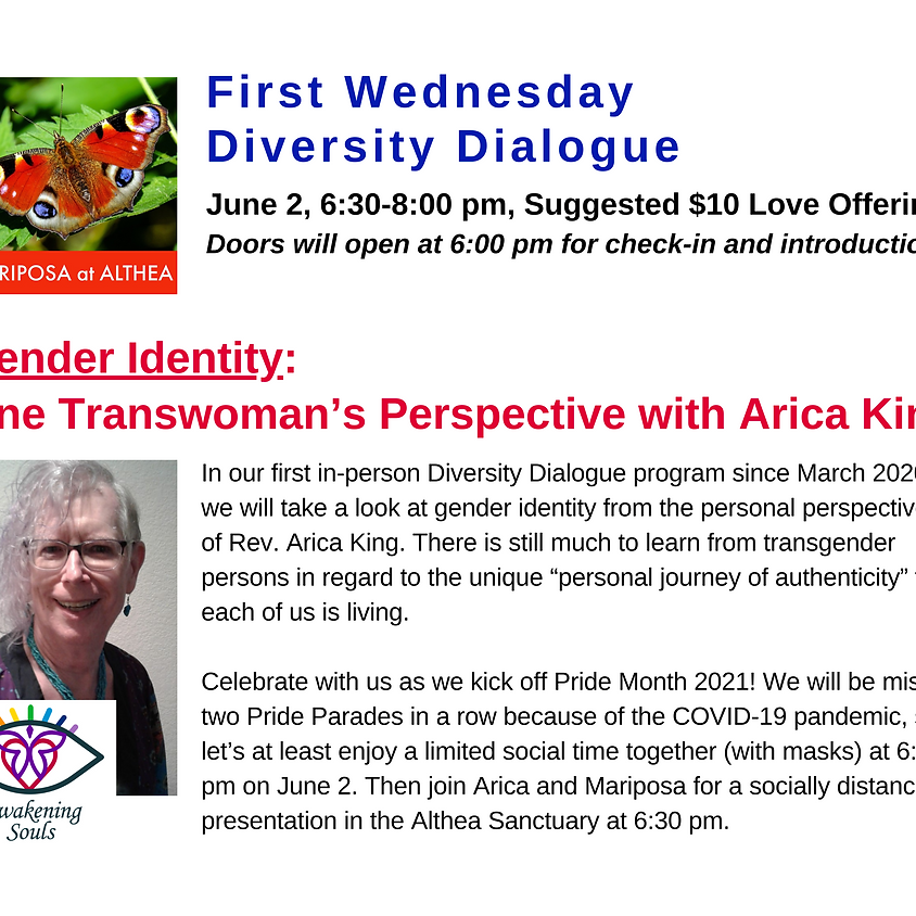 Mariposa's First Wednesday Diversity Dialogue for June 2
