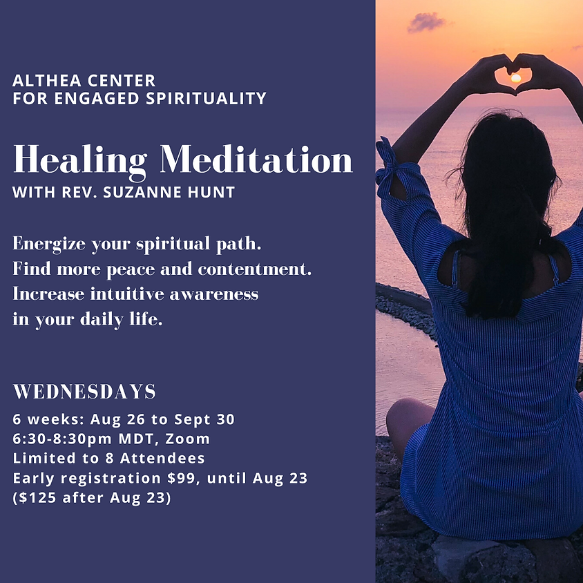 Healing Meditation with Rev Suzanne Hunt