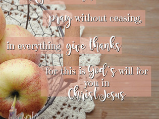 Humbled Gratitude-Devotional Series-Rejoice Always