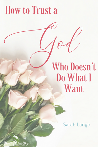 How to Trust a God Who Doesn't Do What I Want