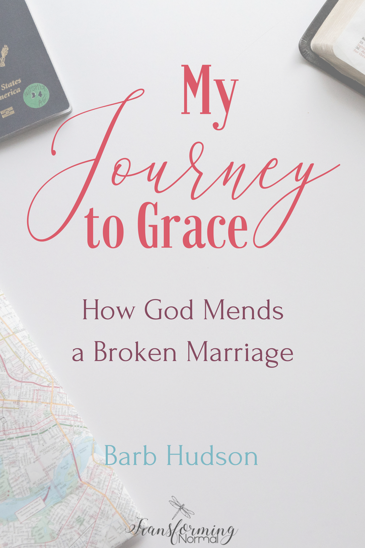 My Journey to Grace Pin