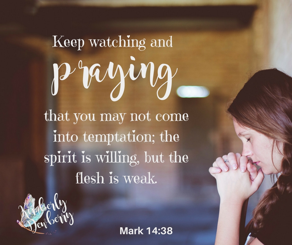 Mark 14:38