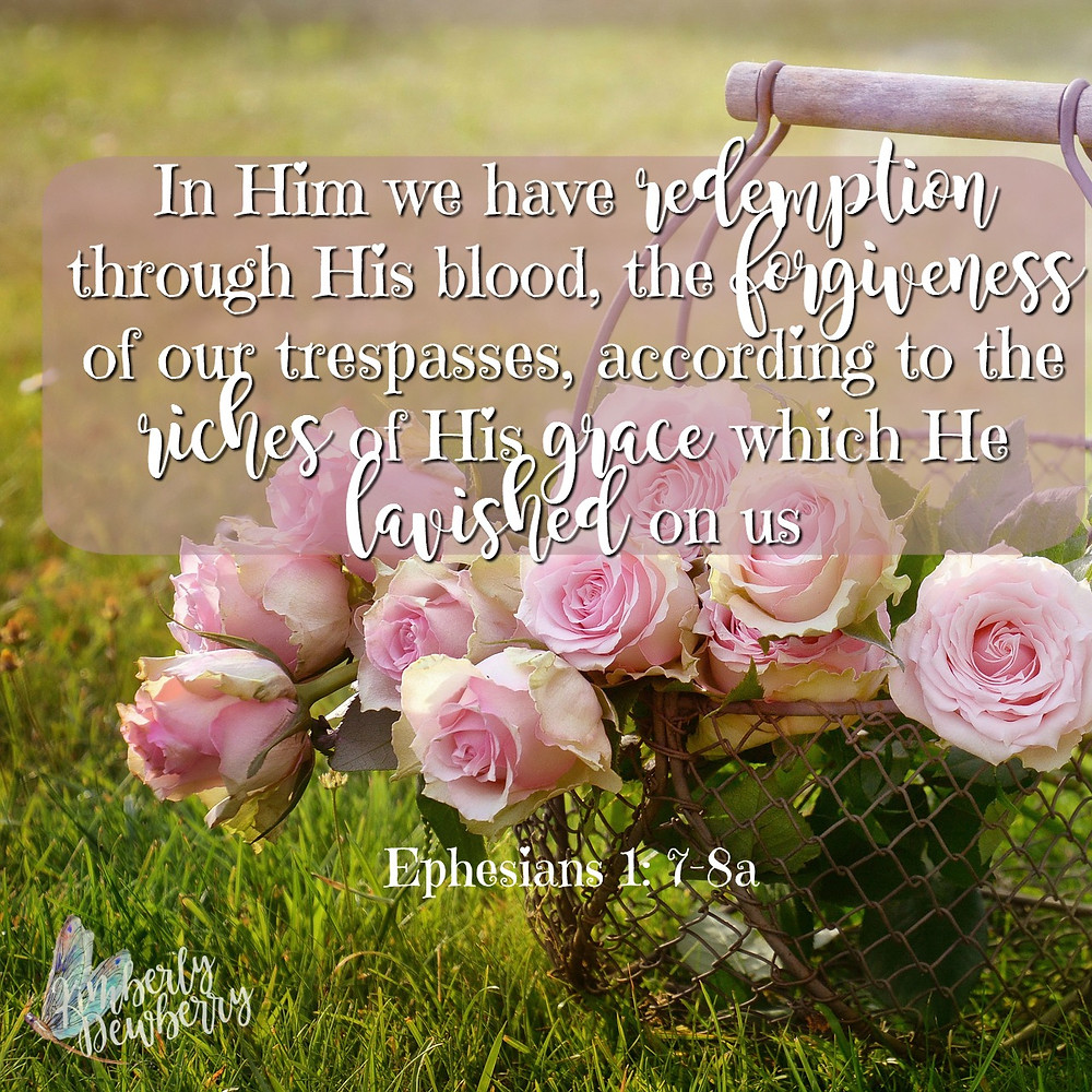 Ephesians 1:7-8a
