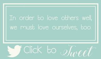 Love others Tweet