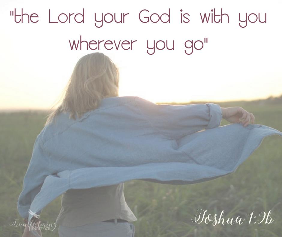 Joshua 1:9b