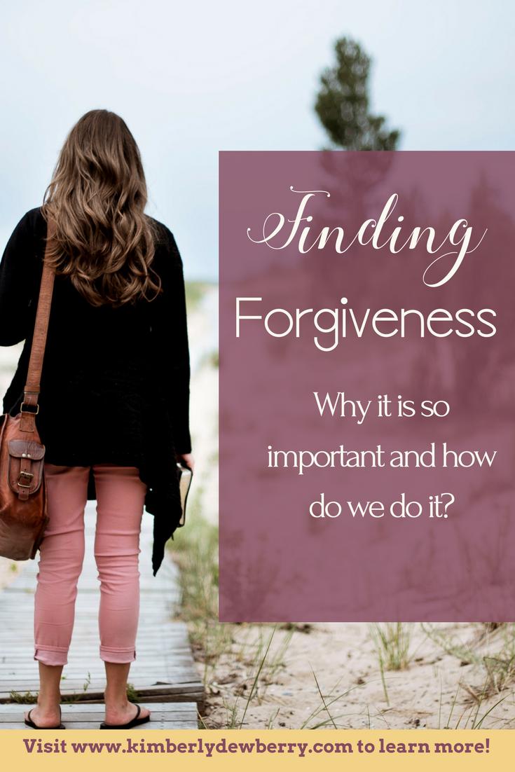 Finding Forgiveness Article Pin