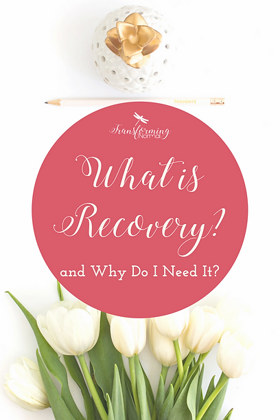 What is Recovery and Why Do I Need it?  If you're like me, when addiction first started affecting your family some of your first thoughts may have gone something like this: ​ He/she needs to stop drinking/using.  I don't understand why he/she can't stop.  There has to be something I can do make him/her quit drinking/using.  If he/she loved me he/she would stop drinking/using.  He/she needs to get help or I'm done!