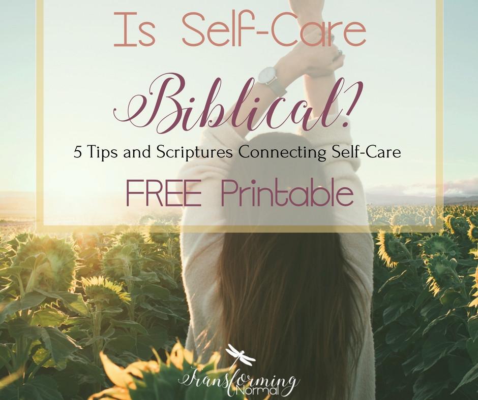 Is Self-Care Biblical?