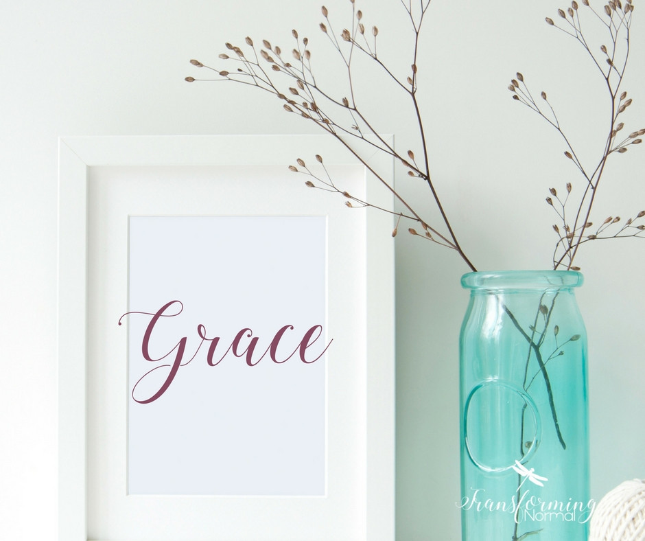My One Word - Grace