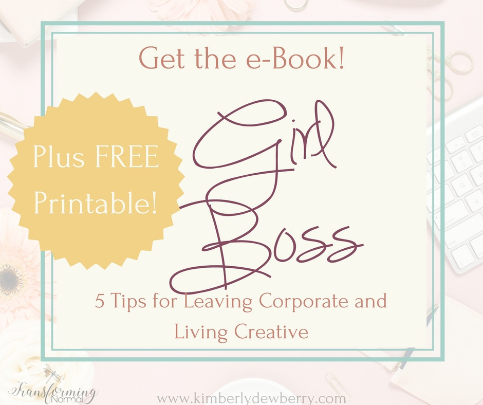 Girl Boss: 5 Tips for Leaving Corporate and Living Creative
