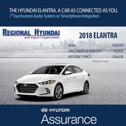 Regional Hyundai Elantra