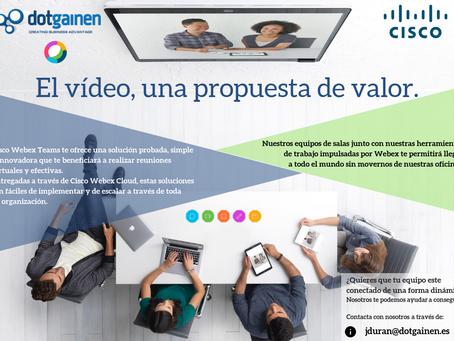 El vídeo, una propuesta de valor.