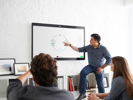 Mejorando el trabajo colaborativo: Cisco Spark Board