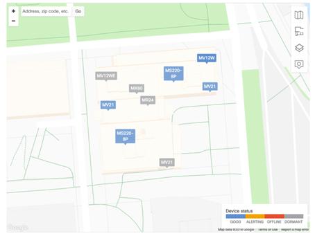 Mapas de Planta de Meraki