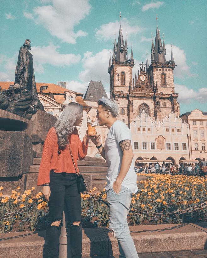 Food Selfie - Prague