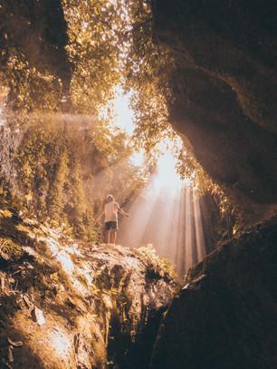 Tukad Cepung Waterfall - BALI