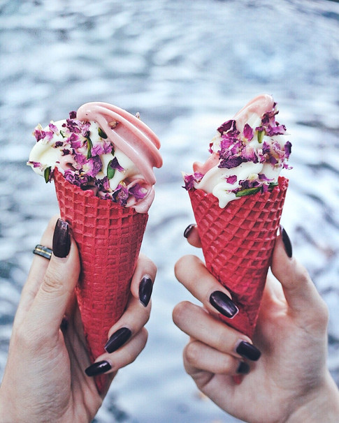 Strawberry Watermelon Soft Serve