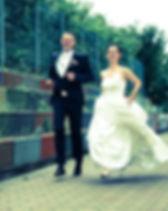Vor der freien Trauung zum Hochzeitsshoo