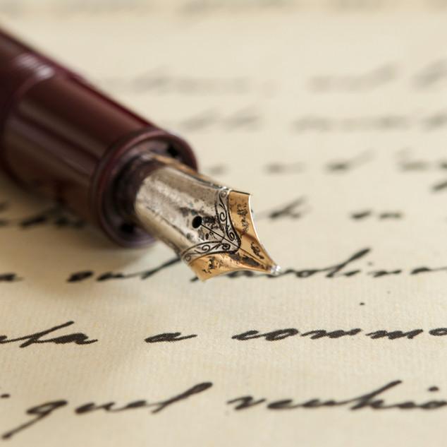 Edler Stift für schöne Worte