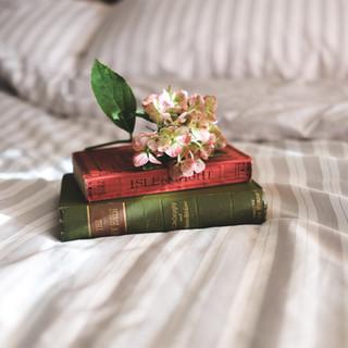 Bücher in der Trauer_