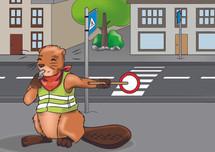Elbi sorgt für Sicherheit im Straßenverkehr