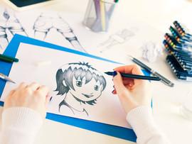 アニメ、漫画制作などは、過程プロセスを共有して自慢したくなるようにする