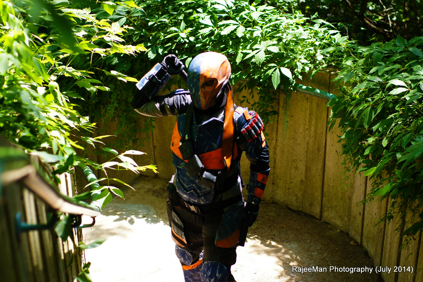 Deathstroke Photo by Rajeeman Photography