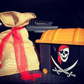 Deze piratenkoffer verhuisde zonet naar