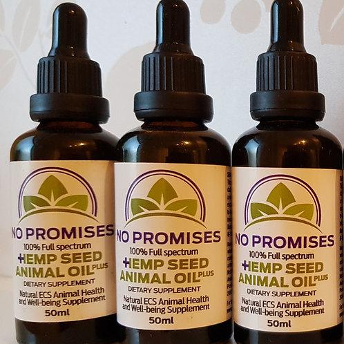 100% Full Spectrum Hemp Seed Oil (50ml)