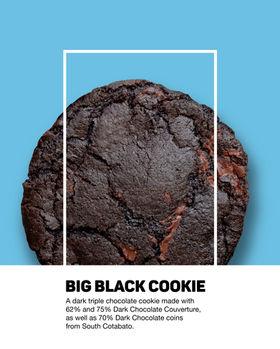 Big Black Cookie