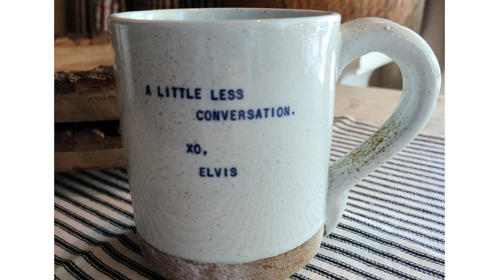 Coffee mug ~ Elvis
