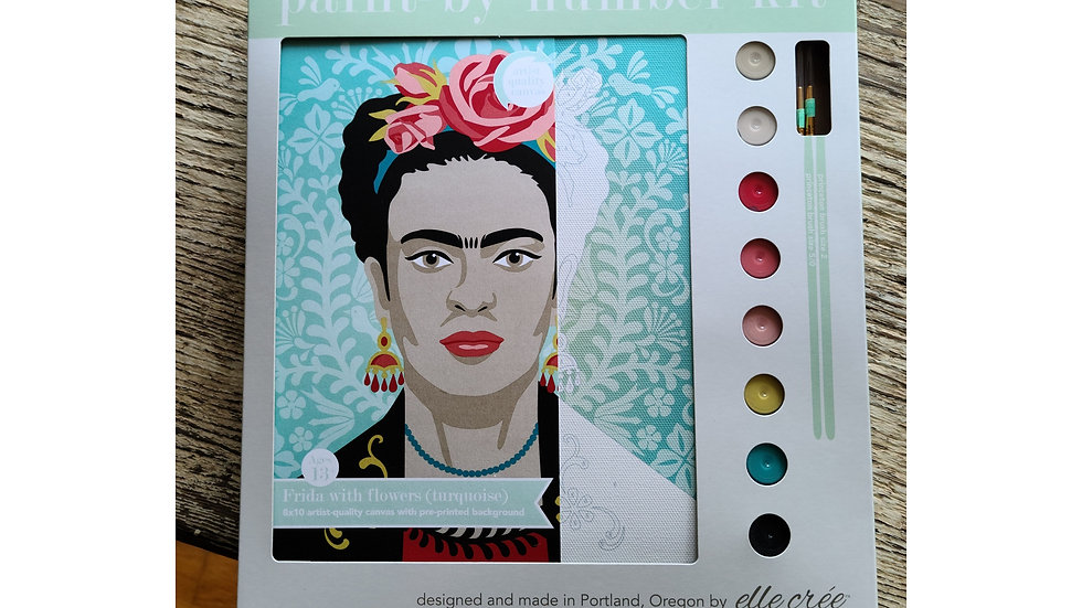 Frida paint by number