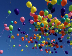 Releasing the Baloon's 2013
