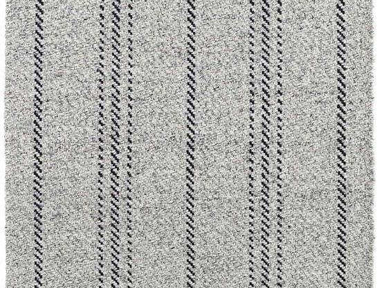 Melange Stripe - Noir et gris