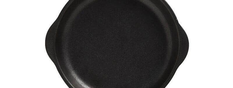 Assiette avec poignées Caviar 15,5x17cm