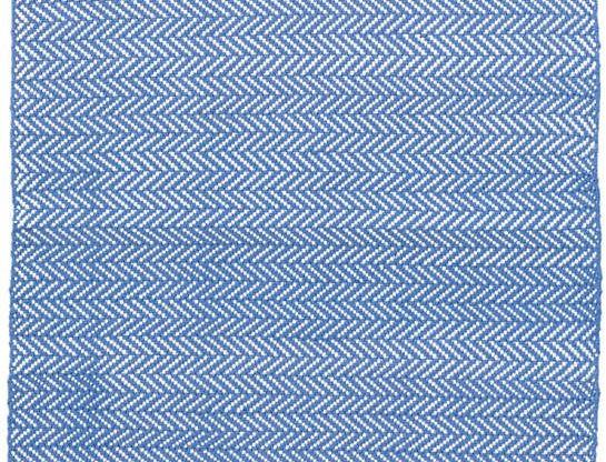 Herringbone French Blue - Intérieur/Extérieur
