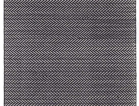 Herringbone Noir - Intérieur/Extérieur