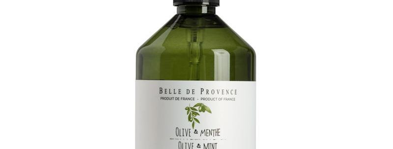 Savon liquide - Olive Menthe