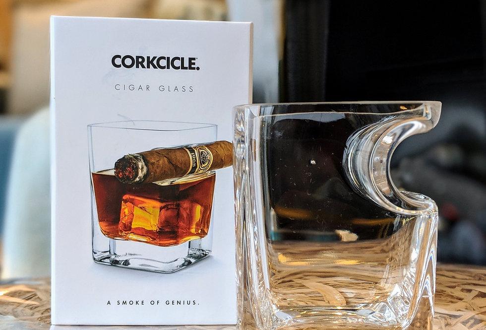 Verre à Whiskey et cigare