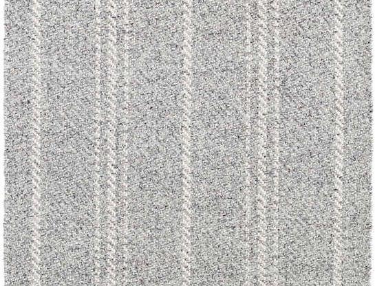 Melange Stripe - Gris et Blanc