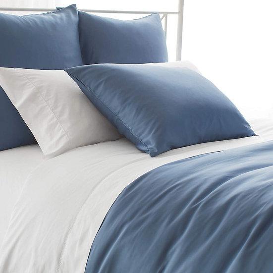 Silken Solid - Bleu acier