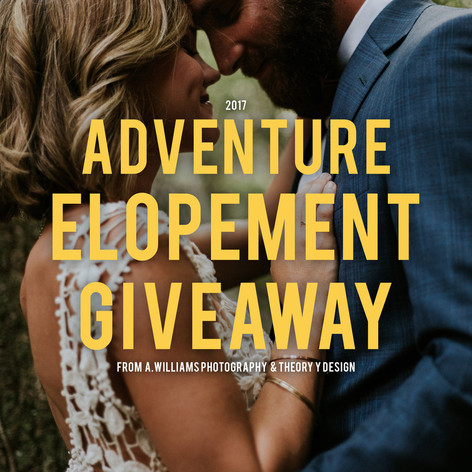 ADVENTURE ELOPEMENT GIVEAWAY