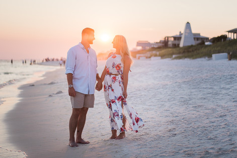Troy + Desiree : Seaside Engagement