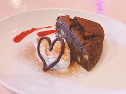 Happy Valentine Chocolate banana cake