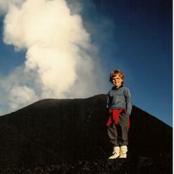 Sur un volcan