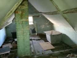 Loft renovation, before