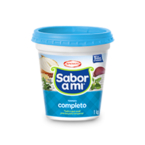 Tempero Sabor Ami Completo Sem Sal 1kg